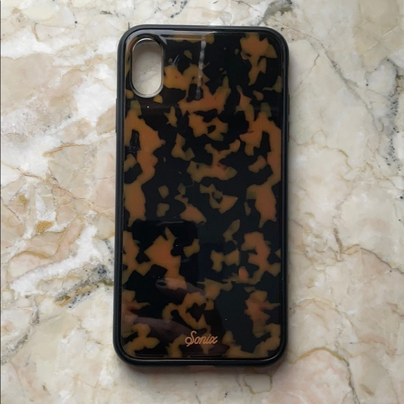 Sonix Brown Tortoise Phone Case iPhone XS Max